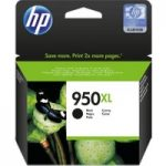 HP 950XL Black Ink Cartridge, Black