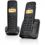 GIGASET A120 Cordless Phone – Twin Handsets