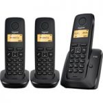 GIGASET A120 Cordless Phone – Triple Handsets