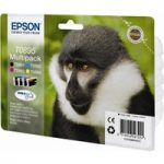EPSON Monkey T0895 Cyan, Magenta, Yellow & Black Ink Cartridges – Multipack, Cyan