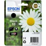EPSON Daisy T1801 Black Ink Cartridge, Black