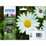 EPSON Daisy T1816 XL Cyan, Magenta, Yellow & Black Ink Cartridges – Multipack, Cyan