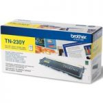 BROTHER TN230 Yellow Toner Cartridge, Yellow