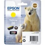 EPSON Polar Bear T2614 Yellow Ink Cartridge, Yellow