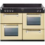 STOVES Richmond 1100Ei Electric Induction Range Cooker – Champagne