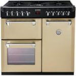 STOVES Richmond 900DFT Dual Fuel Range Cooker – Champagne