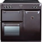 STOVES Richmond 900Ei Electric Induction Range Cooker – Black, Black