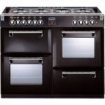 STOVES Richmond 1000DFT Dual Fuel Range Cooker – Black, Black