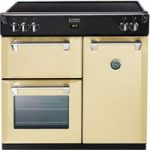 STOVES Richmond 900Ei Electric Induction Range Cooker – Cream, Cream