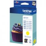 BROTHER LC123Y Yellow Ink Cartridge, Yellow