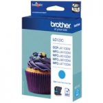BROTHER LC123C Cyan Ink Cartridge, Cyan