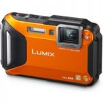 PANASONIC Lumix DMC-FT5 Tough Compact Camera – Orange, Orange
