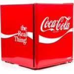 HUSKY Coca Cola HUS-EL207 Mini Fridge – Red, Red