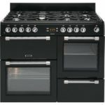 LEISURE Cookmaster CK110F232K Dual Fuel Range Cooker – Black, Black