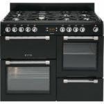 LEISURE Cookmaster CK110F232K Dual Fuel Range Cooker – Black, Black