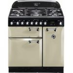 RANGEMASTER Elan 90 Dual Fuel Range Cooker – Cream & Chrome, Cream