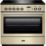 RANGEMASTER Professional 90 FX Electric Induction Range Cooker – Cream & Chrome, Cream