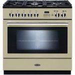 RANGEMASTER Professional FXP 90 Dual Fuel Range Cooker – Cream, Cream
