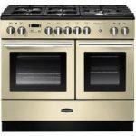 RANGEMASTER Professional FX 100 Dual Fuel Range Cooker – Cream & Chrome, Cream