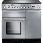RANGEMASTER Toledo 90 Electric Induction Range Cooker – Stainless Steel & Chrome, Stainless Steel