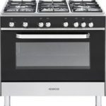 KENWOOD CK305G Gas Range Cooker – Black, Black