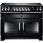 RANGEMASTER Excel 110 Electric Range Cooker – Black, Black