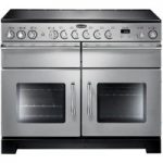RANGEMASTER Excel 110 Electric Ceramic Range Cooker – Stainless Steel, Stainless Steel