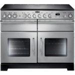 RANGEMASTER Excel 110 Electric Ceramic Range Cooker – Stainless Steel, Stainless Steel