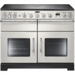 RANGEMASTER Excel 110 Electric Induction Range Cooker – Ivory & Chrome, Ivory