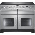 RANGEMASTER Excel 110 Electric Induction Range Cooker – Stainless Steel, Stainless Steel