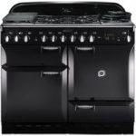 RANGEMASTER Elan 110 Dual Fuel Range Cooker – Black, Black
