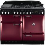 RANGEMASTER Elan 110 Dual Fuel Range Cooker – Cranberry, Cranberry