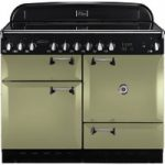 RANGEMASTER Elan 110 Electric Ceramic Range Cooker – Olive Green, Olive