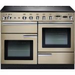 RANGEMASTER Professional 110 Electric Induction Range Cooker – Cream & Chrome, Cream