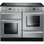 RANGEMASTER Toledo 110 Induction Range Cooker – Stainless Steel & Chrome, Stainless Steel