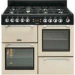 LEISURE Cookmaster CK110F232C Dual Fuel Range Cooker – Cream, Cream