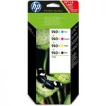 HP 940XL Cyan, Magenta, Yellow & Black Ink Cartridges – Multipack, Cyan