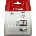 CANON PG-545/CL-546 Tri-colour & Black Ink Cartridges – Twin Pack, Black