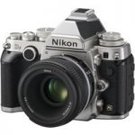 NIKON Df DSLR Camera with 50 mm f/1.8 G Standard Lens, Black
