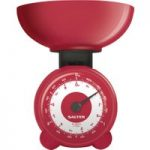 SALTER Orb Mechanical Kitchen Scales – Red, Red