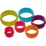 COLOURWORKS Round Cookie Cutters – 5 Pieces