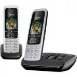 GIGASET C430A Duo Cordless Phone with Answering Machine – Twin Handsets