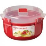 SISTEMA Round 915 ml Microwave Box – Red, Red