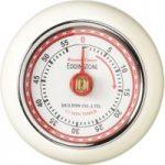 EDDINGTONS Retro Magnetic Kitchen Timer – Ivory, Ivory