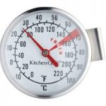 KITCHEN CRAFT Milk Frothing Thermometer – Stainless Steel, Stainless Steel