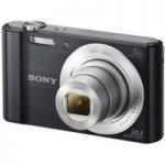 SONY Cyber-shot DSCW810B Compact Camera – Black, Black
